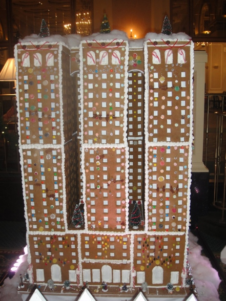 hotel in gingerbread