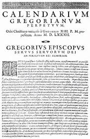 News from Pope Gregory XIII
