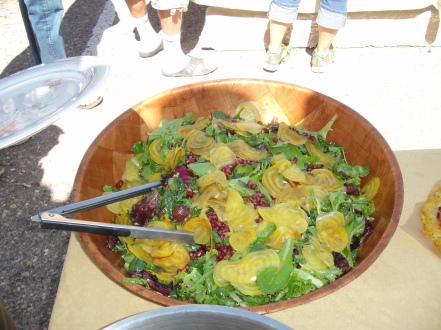 beets, greens, salad