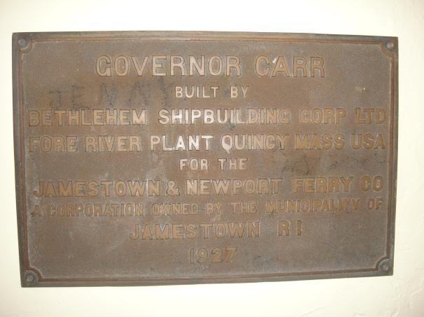 Carr plaque