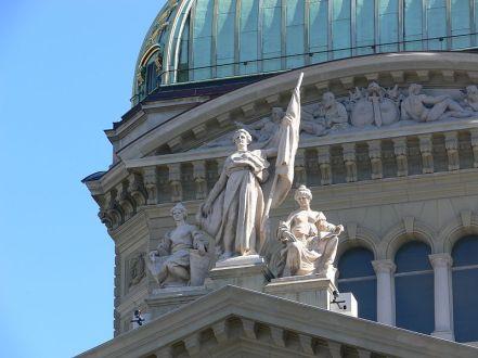 Helvetia in Bern