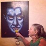 drinking with Bela Lugosi