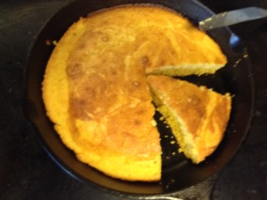 cornbread that wants to be a poem