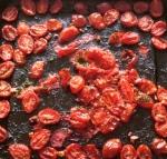 roasted garlic cherry tomates