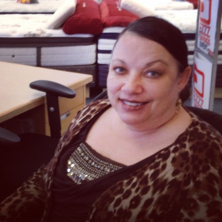 Tamara Flores at work