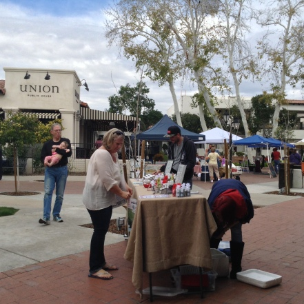 St Philip's Plaza market