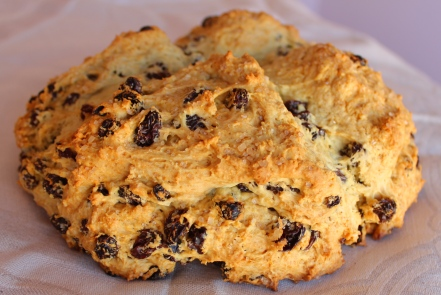 Irish Soda Bread with Whiskey Butter      www.morewinelesswhines.com