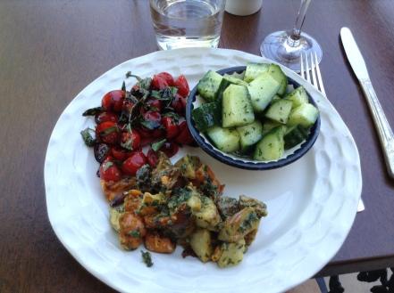 bunnies salad trio