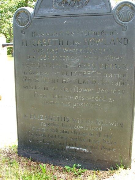 End Of Elizabeth's pilgrimage