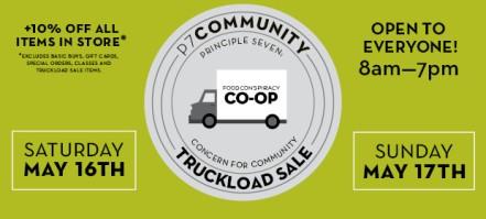 Truckload sale