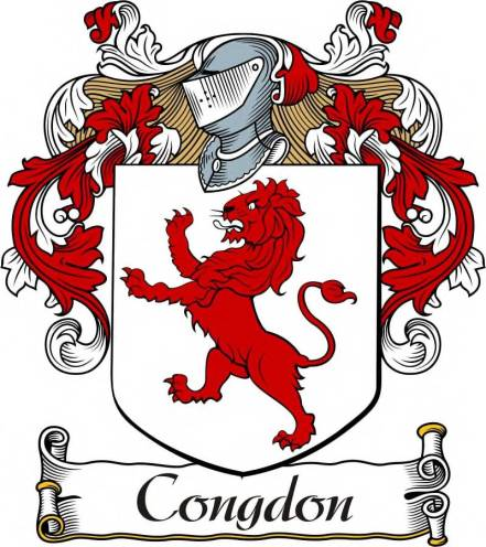 Congdon Coat of Arms