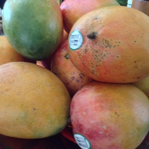 mangos for chutney #foodprep