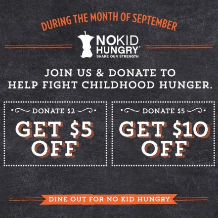 No Kid Hungry Dine Out