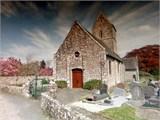 parish church in LaRachelle Normandy