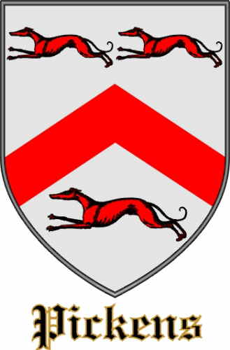 Pickens Coat of Arms