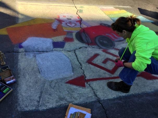 chalk mural artists