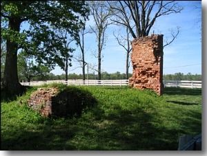 ruins of Malvern Hill House