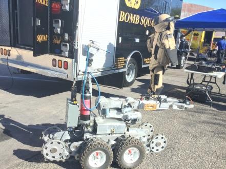 the bomb robot