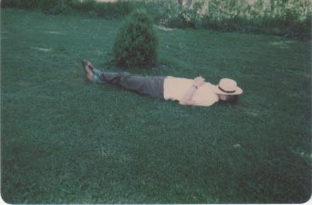 Richard Arden Morse snoozing