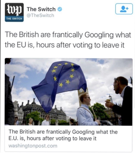 Brits become curious