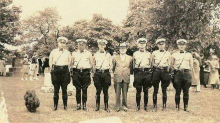 Oakmont police force 1947