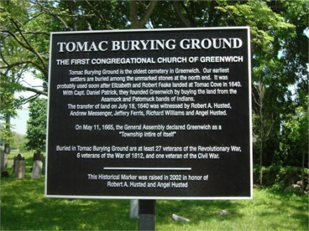 Tomac Burying Ground