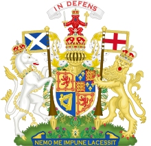 Coat of Arms of Scotland(1660-1689).