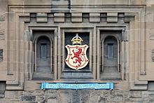 Edinburgh castle Nemo me impune lacessit