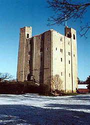 Hedingham Castle in Essex, John de Vere's main residence