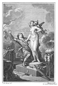 Greek god Pygmalion