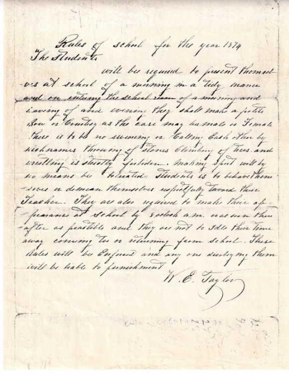 handwritten rules