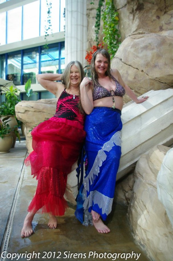 mermaids at Atlantis