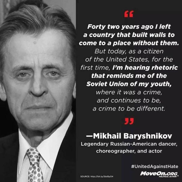 Bryshnikov speaks