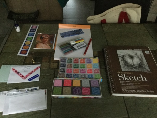 #InCoWriMo supplies
