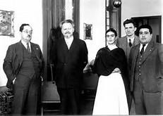 Frida and Leon Trotsky