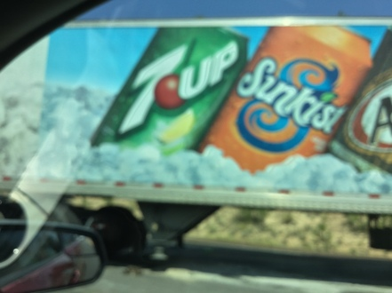 soda on the road