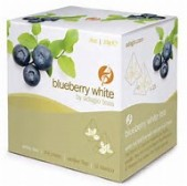 white blueberry tea