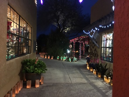 Luminaria night Tubac