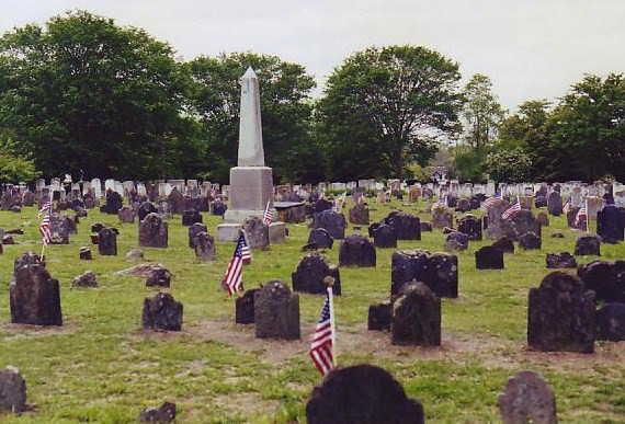 Myles Standish Burying Ground,Duxbury,MA