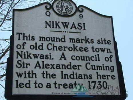 Nikwasi burial mound