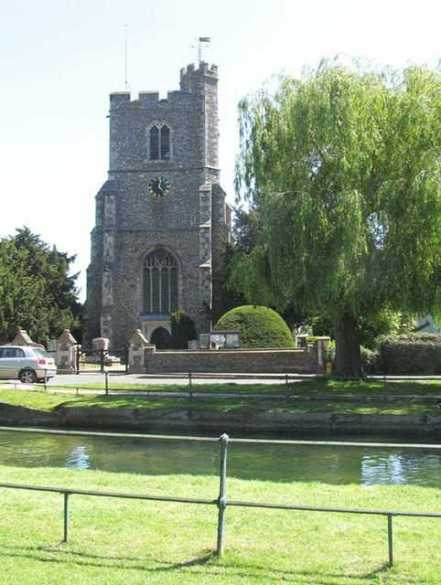 Sir John and Lady Elizabeth Say are buried together at Broxbourne, Hertfordshire.